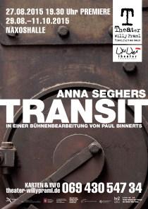 Theater Willy Praml_WuWei_TRANSIT_Paul Binnerts_Plakat