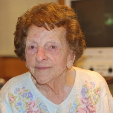 BLANCHE AT 95