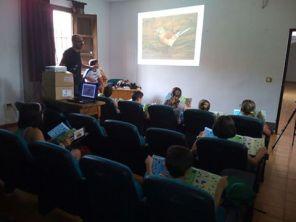 Rafa Torralba sesión de Educación Ambiental en Alcaraz