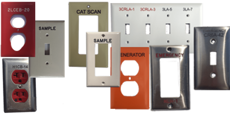 engraved switchplates, wall plates and device covers engraved