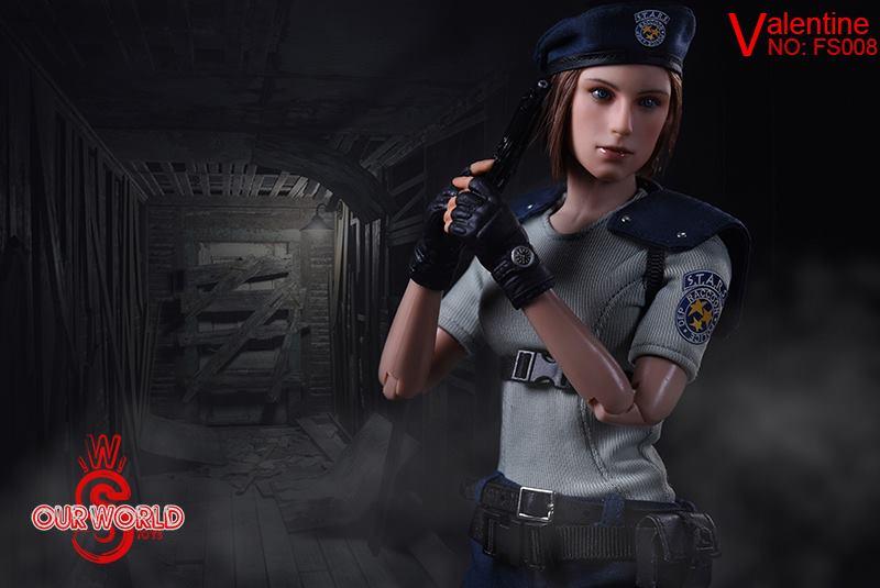 SW Our World Valentine Resident Evil