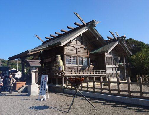 大御神社の本殿の外観