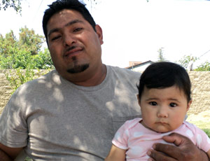 Hector Nolasco and Daughter