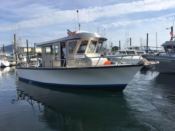 Sitka Fishing Boats