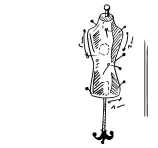 illustration mannequin