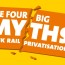 The four big myths of UK rail privatisation