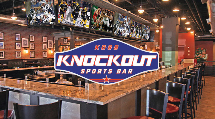knockout sports bar colony, dallas, location and addision