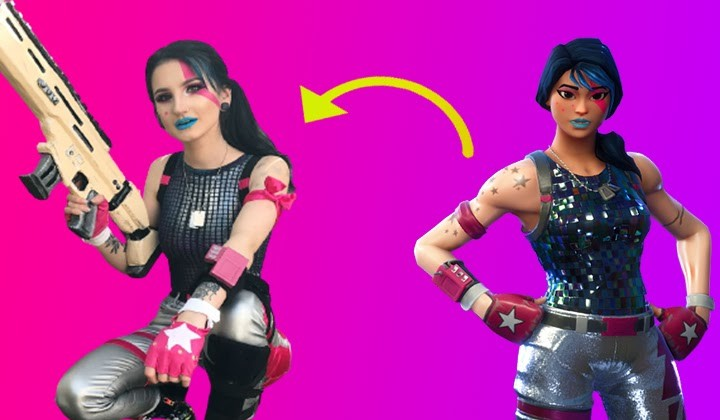 Sparkle Specialist fortnite girl skins in real life