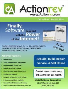 Actionrev Brochure Front