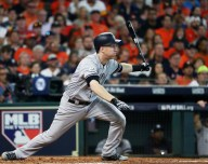 NY Yankees Todd Frazier