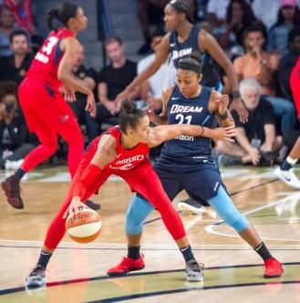 WNBA- Atlanta Dream Vs. Washington Mystics at the McCamish Pavillion -USA on Tuesday 28th 2018
