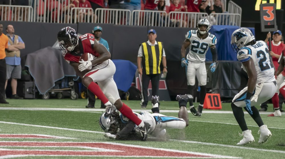 Calvin Ridley 2018 week 2 rookie review