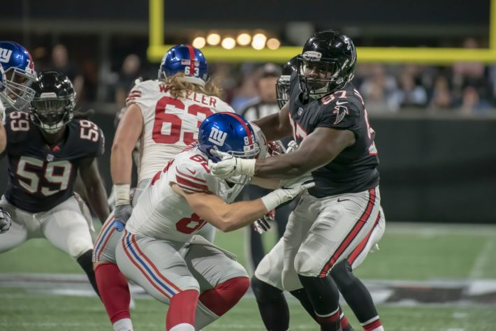Atlanta Falcons vs NY Giants