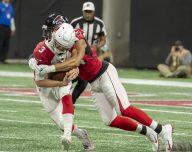 Atlanta Falcons win big 40-14