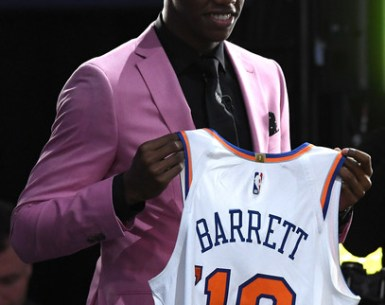 RJ Barrett 2019 NBA Draft to the New York Knicks