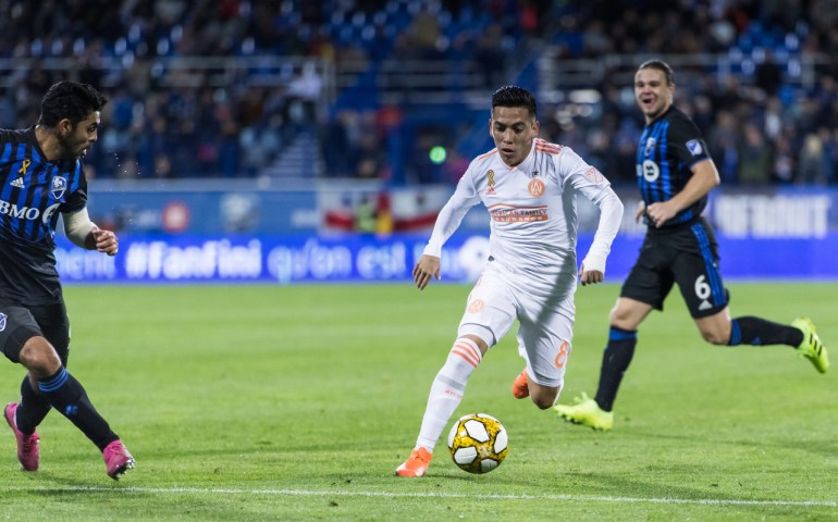 Ezequiel Barco returned to action for Atlanta United. Atlanta tied 1-1 against Montreal