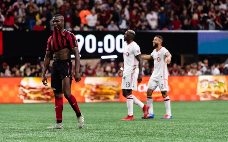 Atlanta United lost in the 2019 Eastern Conference Final to Toronto FC on October 30