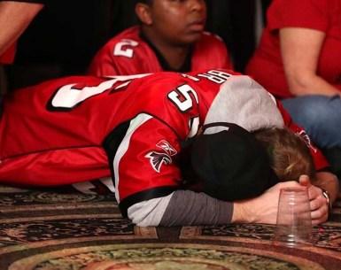 Sad Atlanta fans, blame curse