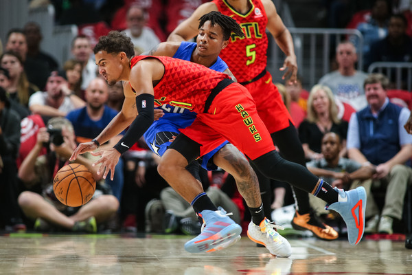 TRAE YOUNG NAMED NBA EASTERN CONFERENCE PLAYER OF THE WEEK #NFL, #dirtybirds, #falcons, #inbrotherhood, #atlantafalcons, #ATL, #ASN #nfc, #nfcsouth