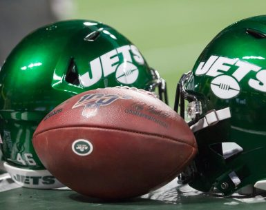 New York Jets and the New York Giants play home and home game