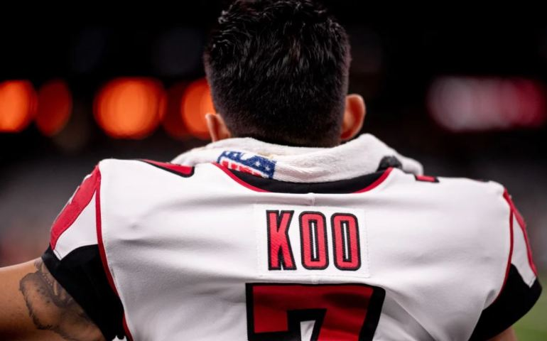 Younghoe Koo started his career 4 of 4 field goals versus the Saints