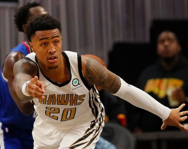 Suspended NBA Player John Collins #TruetoAtlanta, #AtlantaHawks, #Hawks, #ATL,