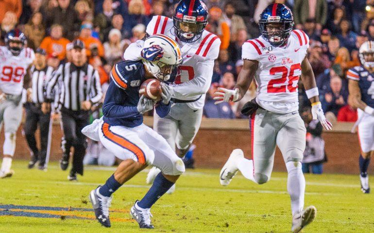 Auburn versus Ole Miss