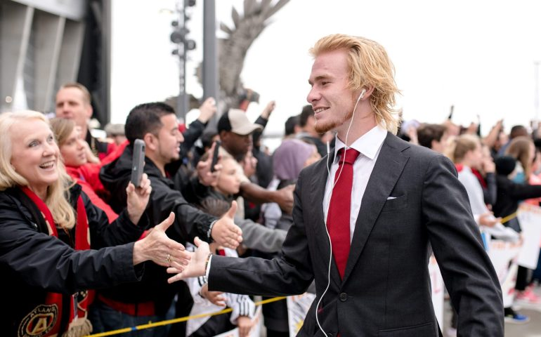 Andrew Carleton has been loaned to Indy Eleven from Atlanta United. Photo by: Atlanta United FC