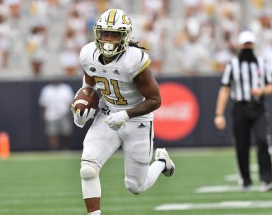 #yellowjackets, #404, #ATL, Jahmyr Gibbs Running Back Georgia Tech Yellow Jacket