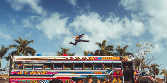 PHOTO ALERT: Kyrsanidis puts his Freerunning spin on Panama City