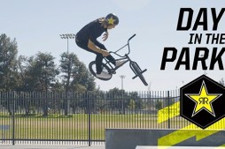 2018 BMX | Day in the Park w/ Chad Kerley & Dennis Enarson