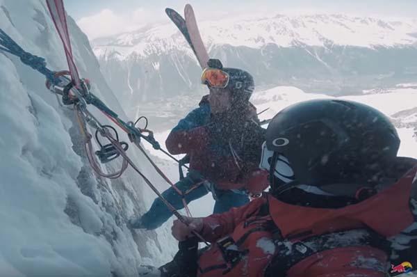 Snowboarding in Chamonix - Frozen Mind