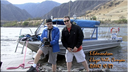 Stu Edmondson and Jason Lazo Hells Canyon Idaho
