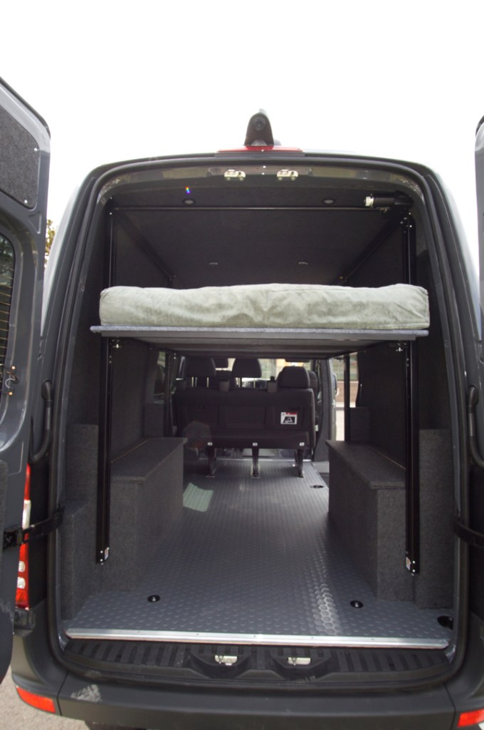 The Happijac Bed System for Sprinter and Promaster Vans