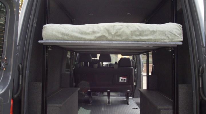Action Van Versatile Sprinter And Promaster Adventure