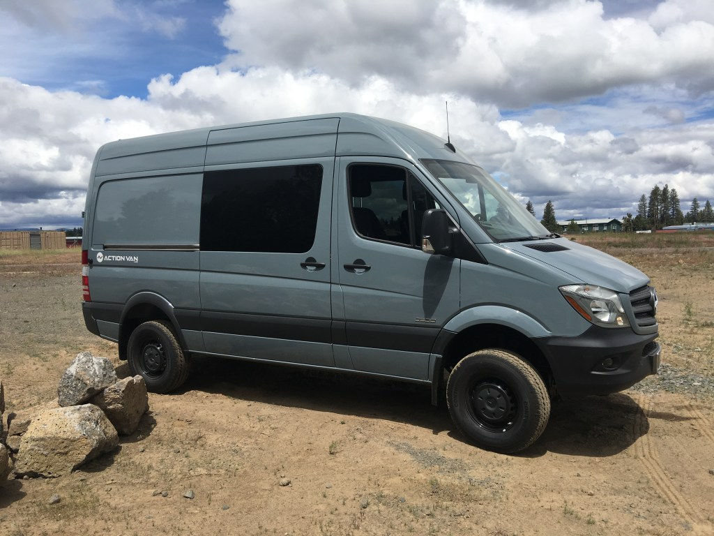 For Sale – 2016 Grey Blue 4×4 Sprinter 144 | Ready For Conversion – SOLD