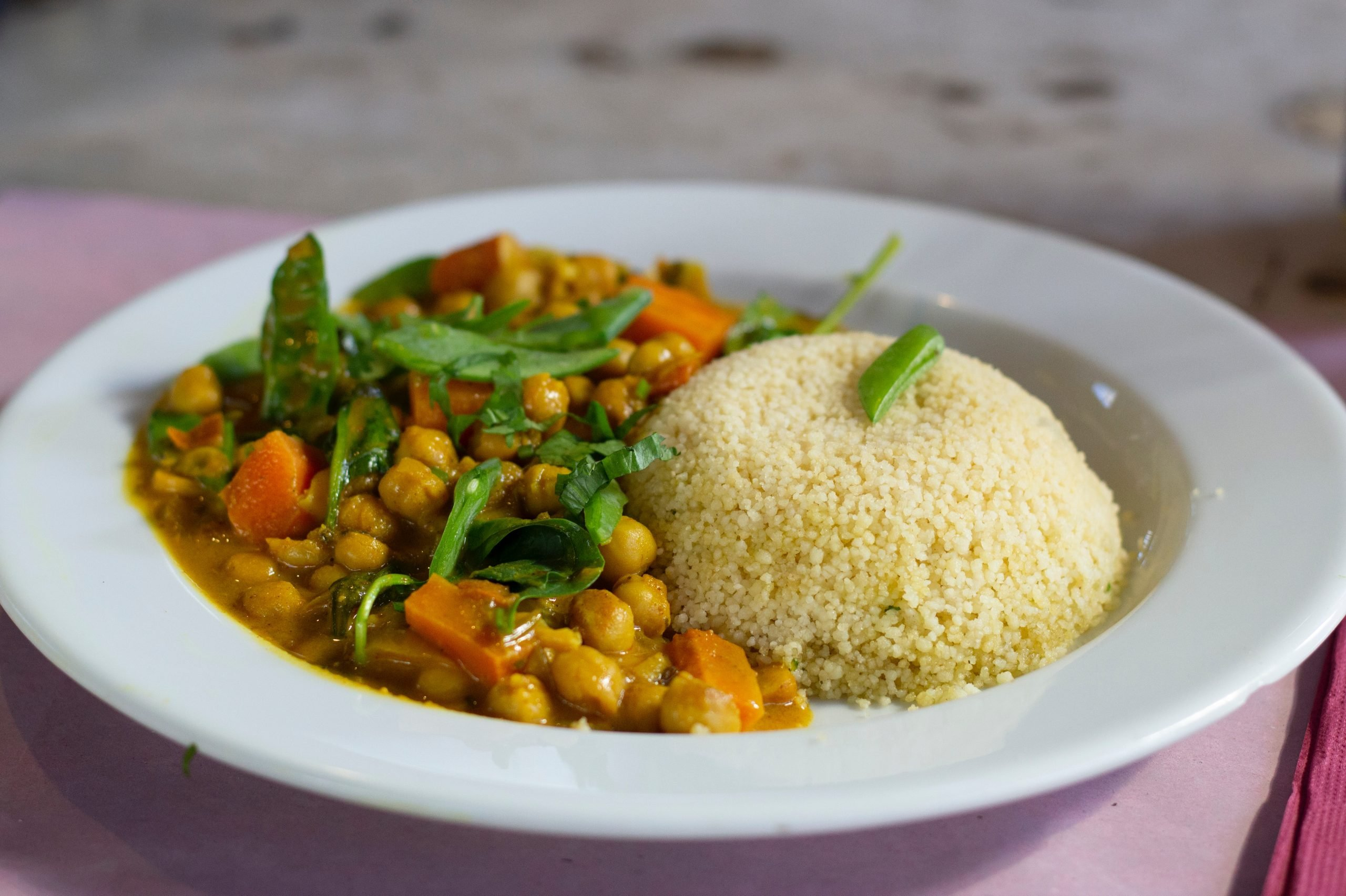 Curry Vegano de Garbanzos