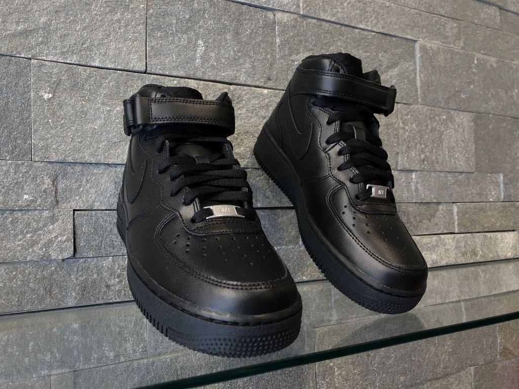 Adidasi Nike Air Force Mid Negru 315123-001