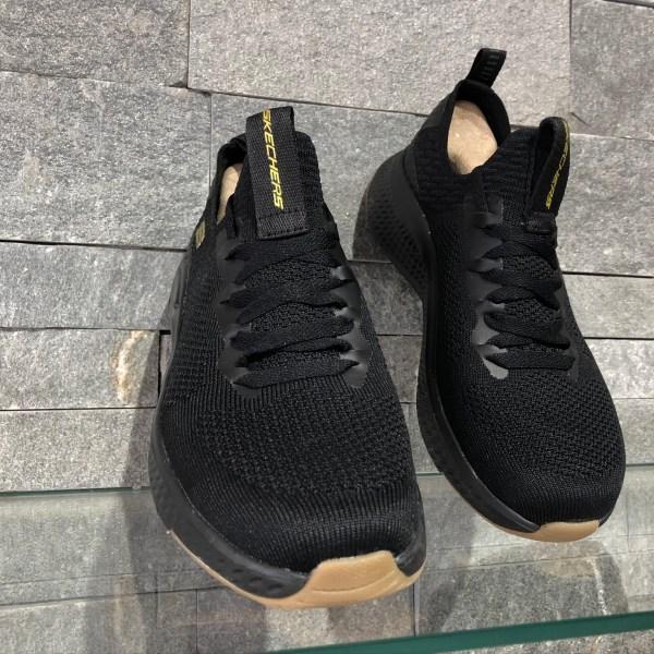 Pantofi Skechers Fuse Negru-Gold 52757-BKGD