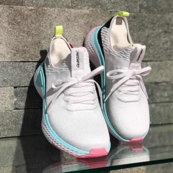 Pantofi Skechers Fuse Alb 13325-WMLT