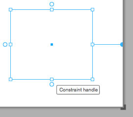 The new application resize handle and constraint handles in Flash Catalyst CS5