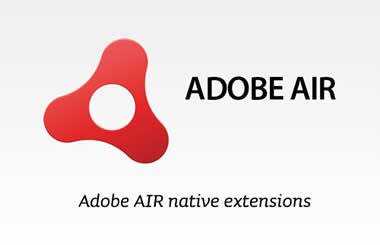 Usar extensiones nativas en Adobe Flash Professional CS6