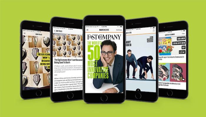 Fast Company y la visión de Adobe para Publicaciones Digitales