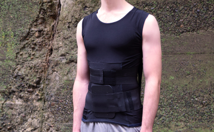 RecoveryAid Rx-631 | Posture Shirt Covered by Insurance | HCPCS L0631 Back Brace