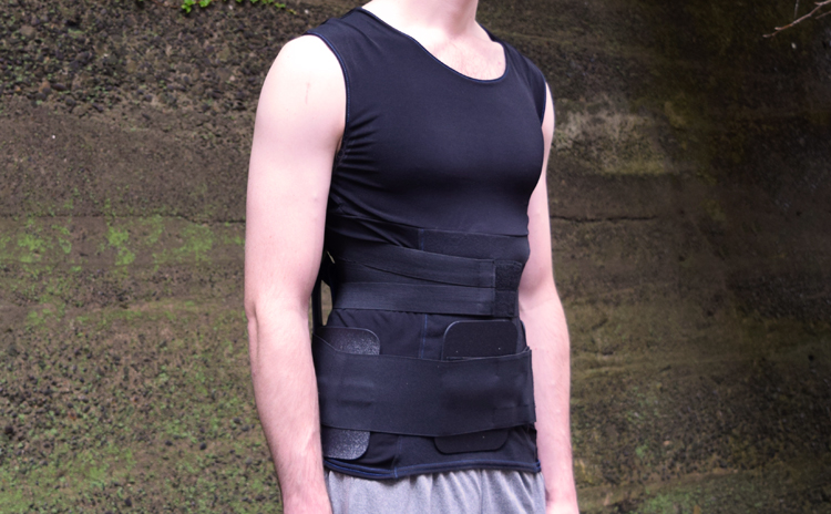 RecoveryAid Rx-637 | Posture Shirt Covered by Insurance | HCPCS L0637 Back Brace
