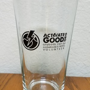 Activate Good Pint Glass