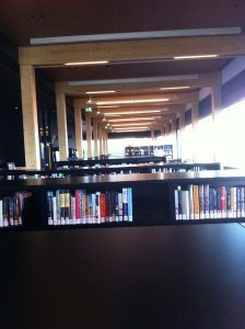 The fiction books as far as the eye can see...