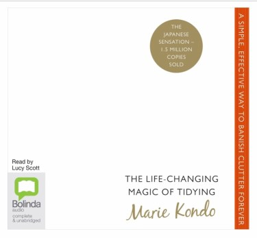 What if changing habits was a bit like the process in Marie Kondo's The Life Changing Magic of Tidying, shown here?