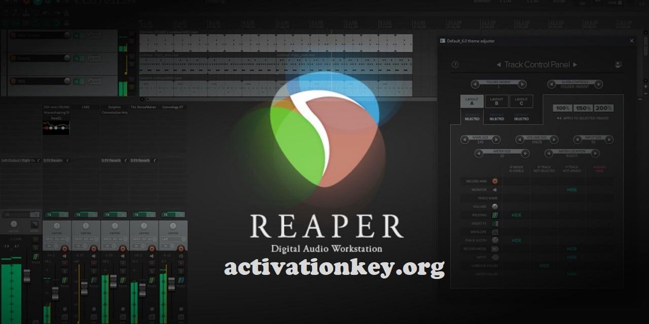 REAPER 6.04 Crack + License Key Free Download [Windows]