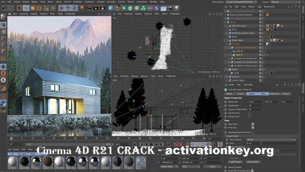 CINEMA 4D R21.207 Crack + Full Version + Keygen {Windows}
